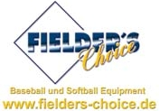 Fielder's Choice - Baseball und Softball Equipment
